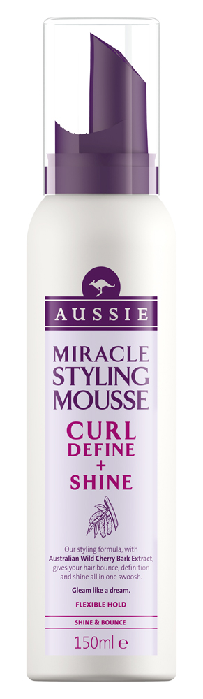 Aussie_CurlDefine&Shine_150ml_Mousse